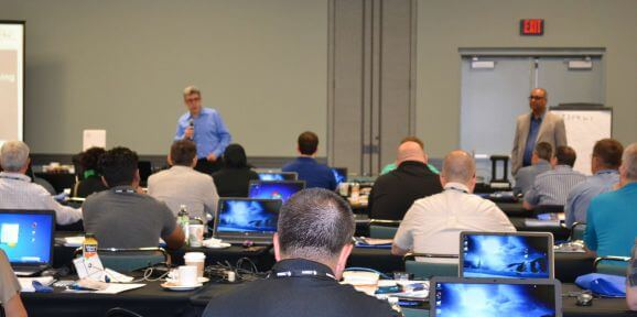 Fast Track RFID Training at a conference is a great way to get RFID Certification fast. Check out the training schedule!