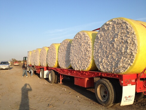 RFID in Agriculture used for cotton tracking.