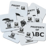 Metalcraft Heat Seal Labels for laundry tracking and inventory management