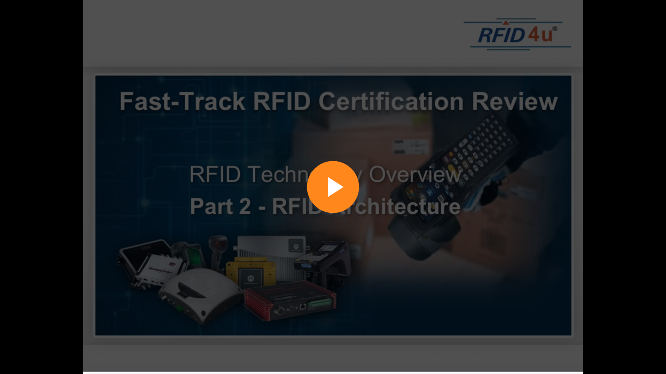 Module 2: RFID Architecture Components
