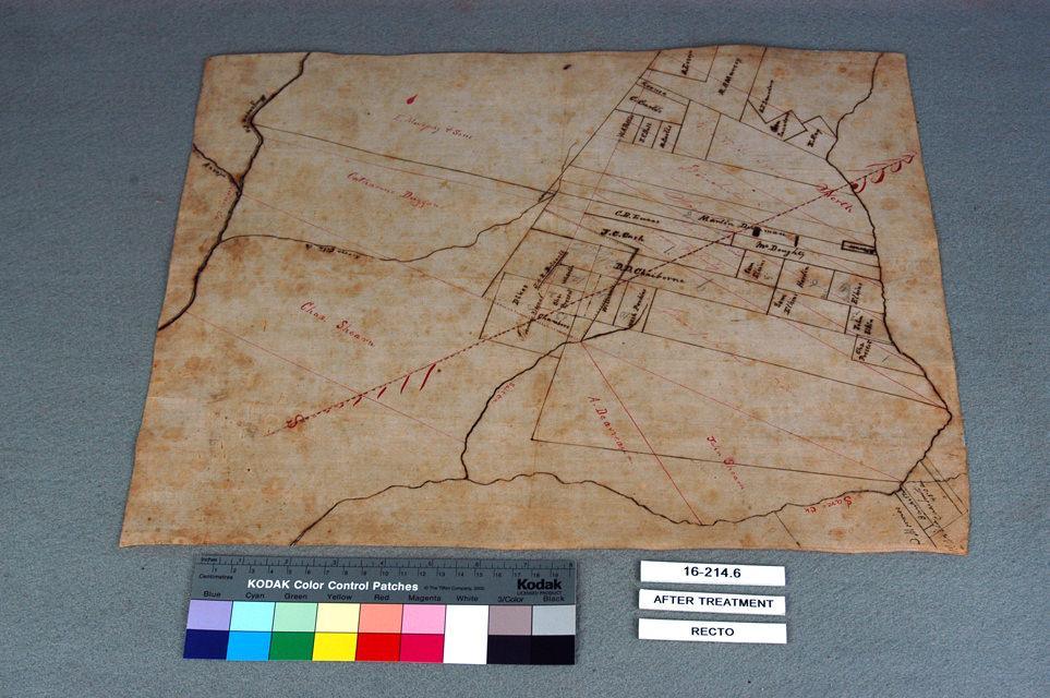 Booksmith Conservation Map Restoration