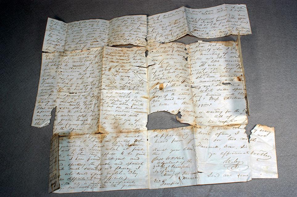 Booksmith Conservation letter repair