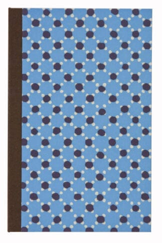 Dot to Dot in Blue and Brown Small Notepad Holder