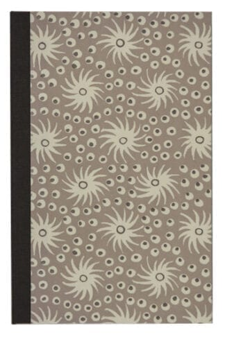 Milky Way in Taupe- Small Refillable Notepad Cover