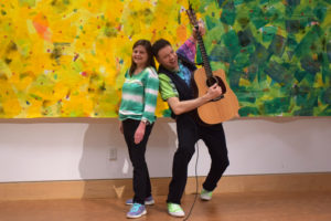 """Jason Didner and the Jungle Gym Jam - official photo in hi-res. Features """"Jersey Jason"""" and """"Awesome Amy."""""""