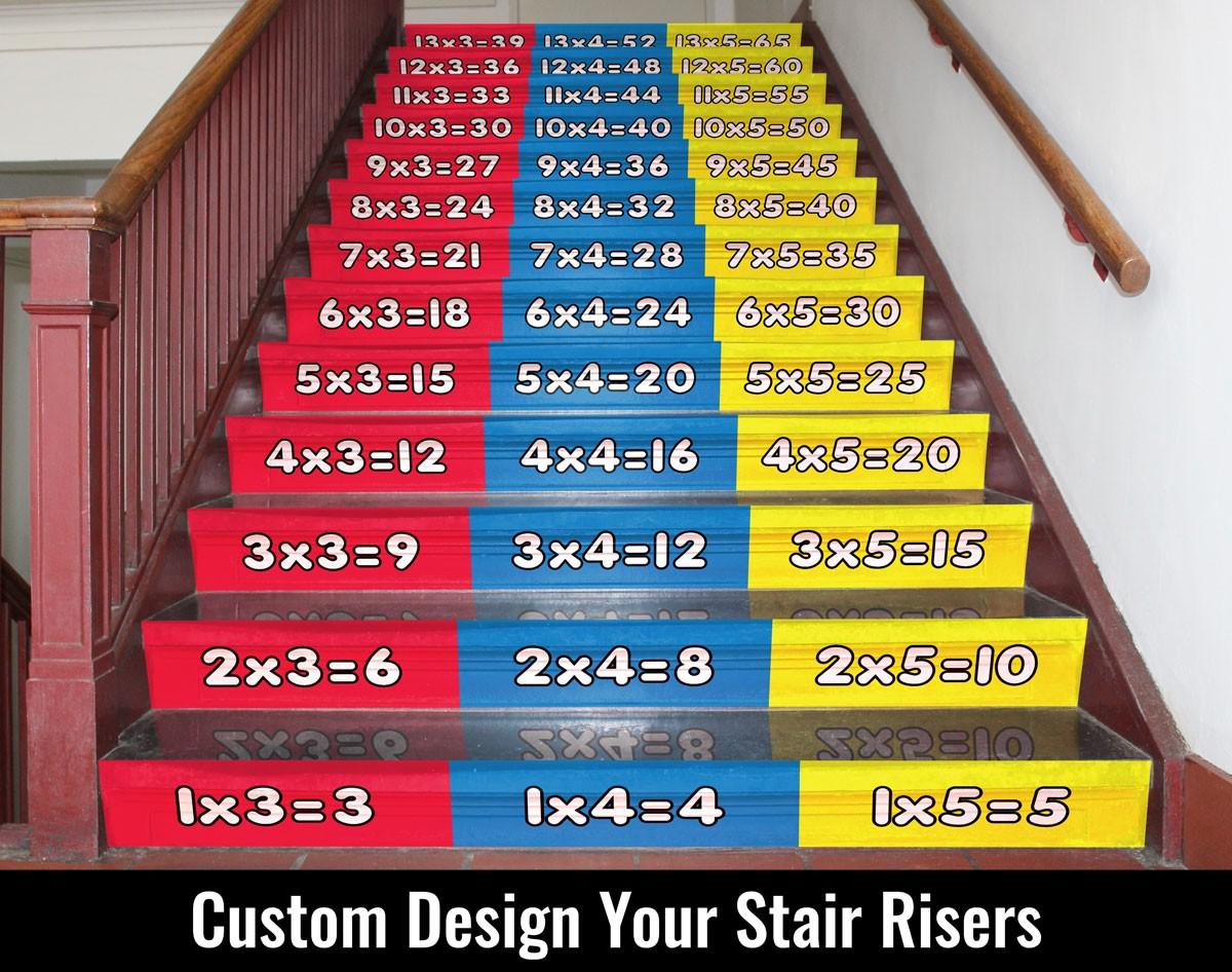 stair riser stickers