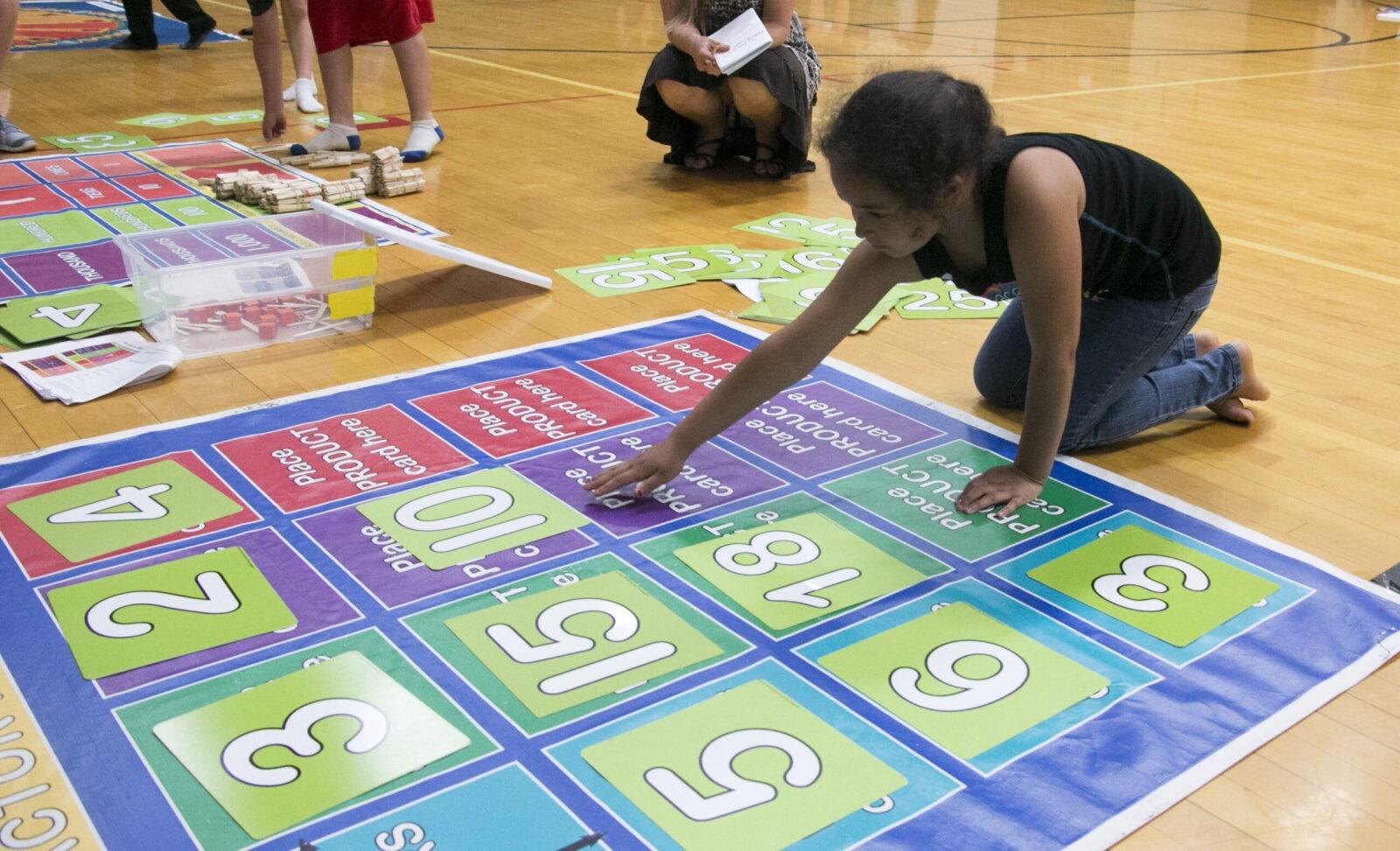 Fourth Grade Math Floor Mats