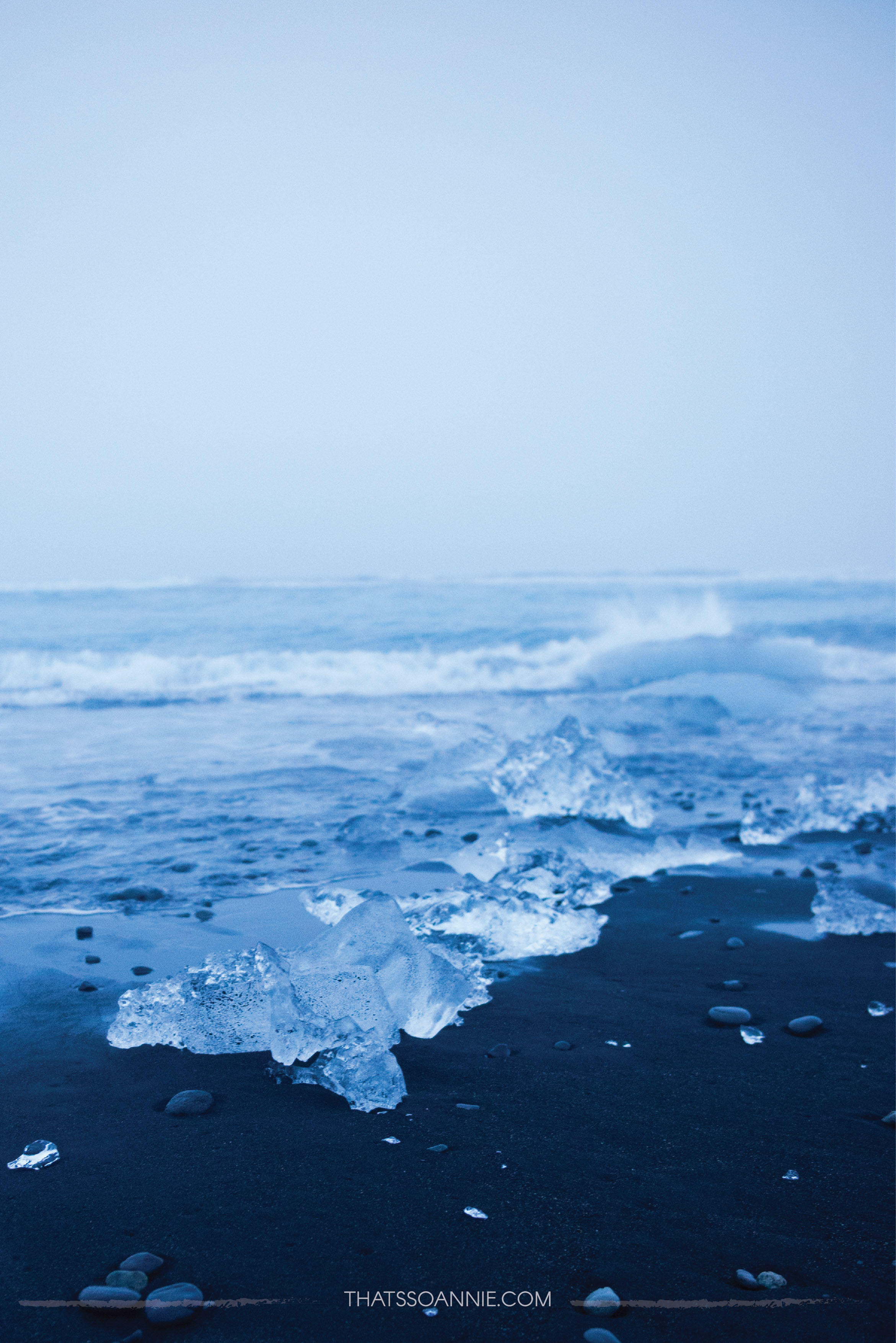 Diamond Beach, Jökulsárlón Iceberg Lagoon