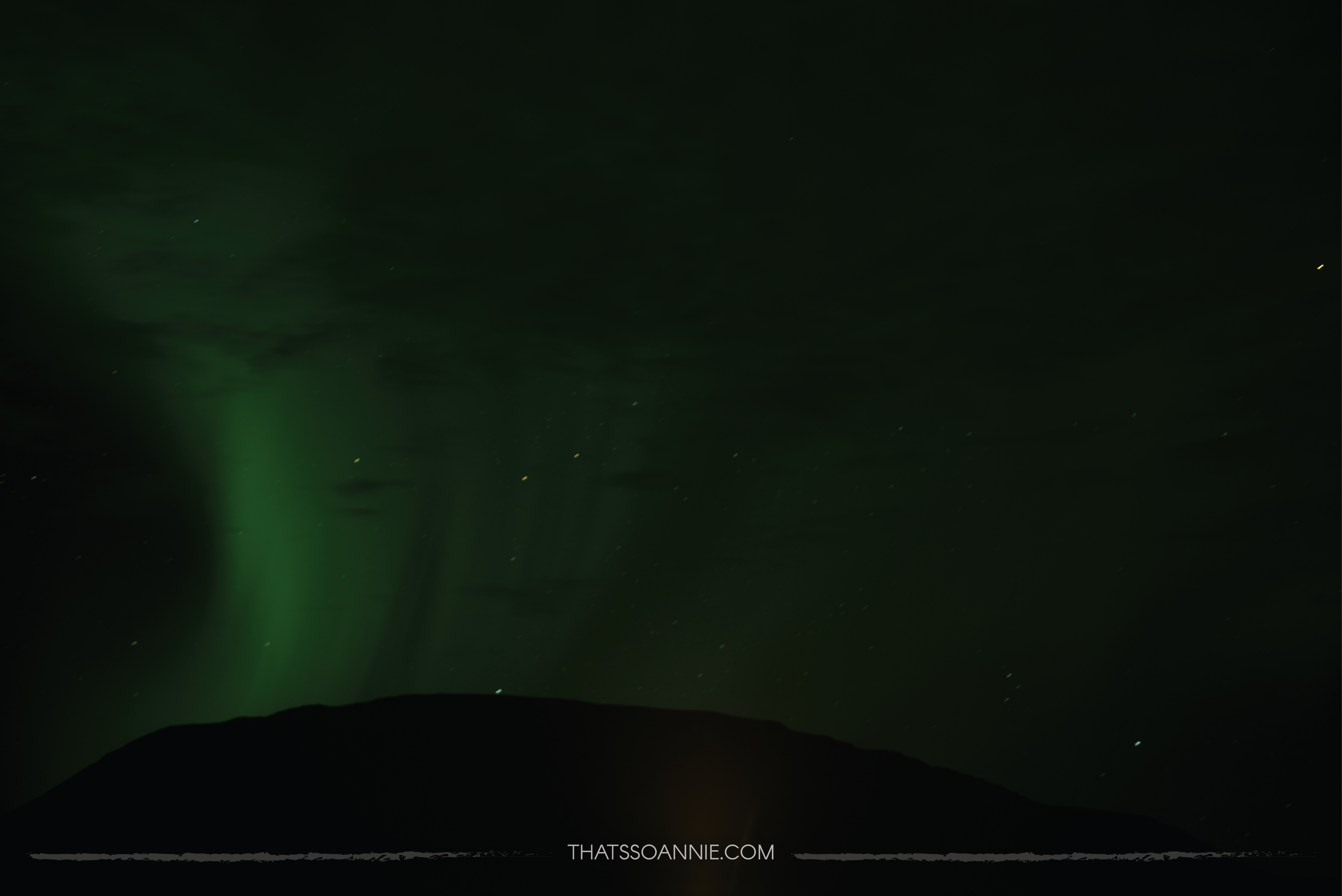 Not too bad for our first Northern Lights photo trial huh?