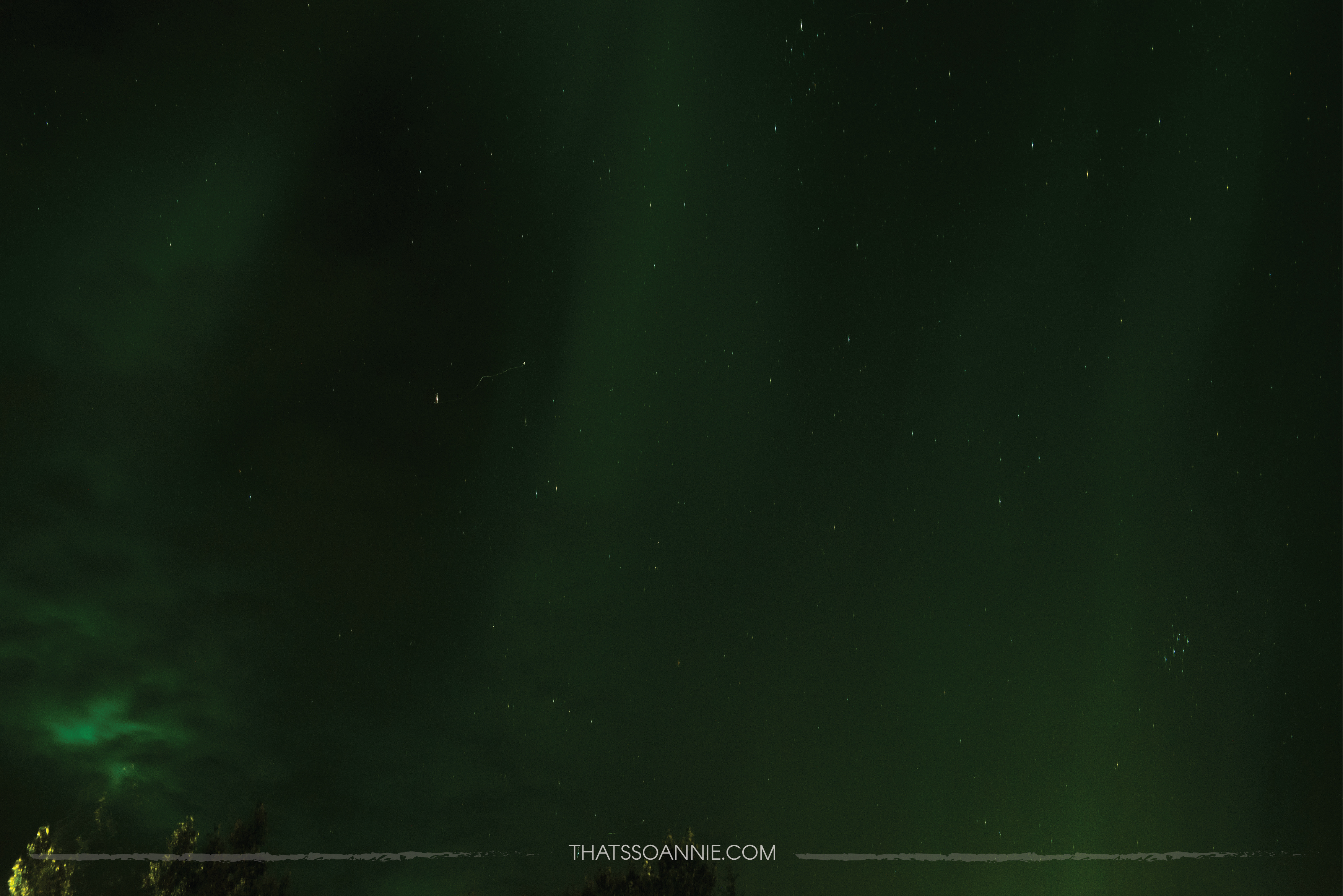 When you aren't ready for an Aurora sighting! :D