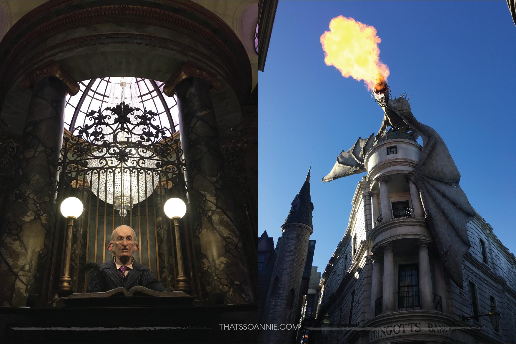 Gringotts, The Wizarding World of Harry Potter