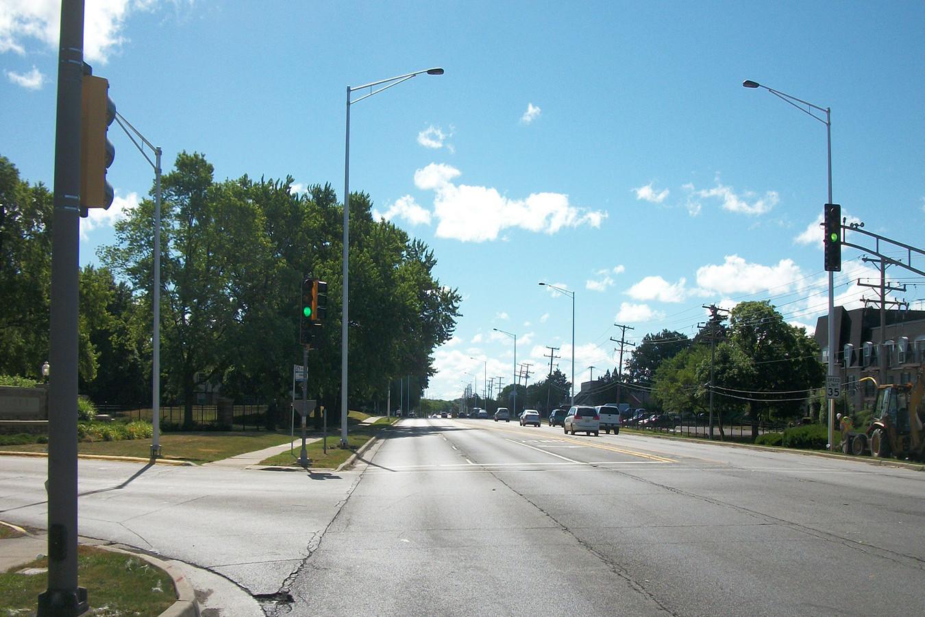 Algonquin Road/Golf Road/New Wilke Road Lighting Improvements | Ciorba Group