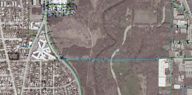 Caldwell Avenue Water Main River Crossing | Ciorba Group