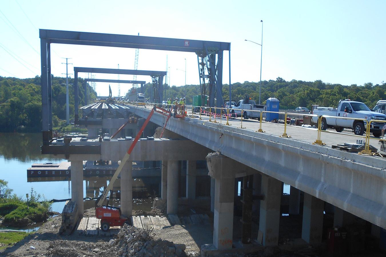 Jane Addams Memorial Tollway (I-90) Fox River Bridge Expansion   Ciorba Group