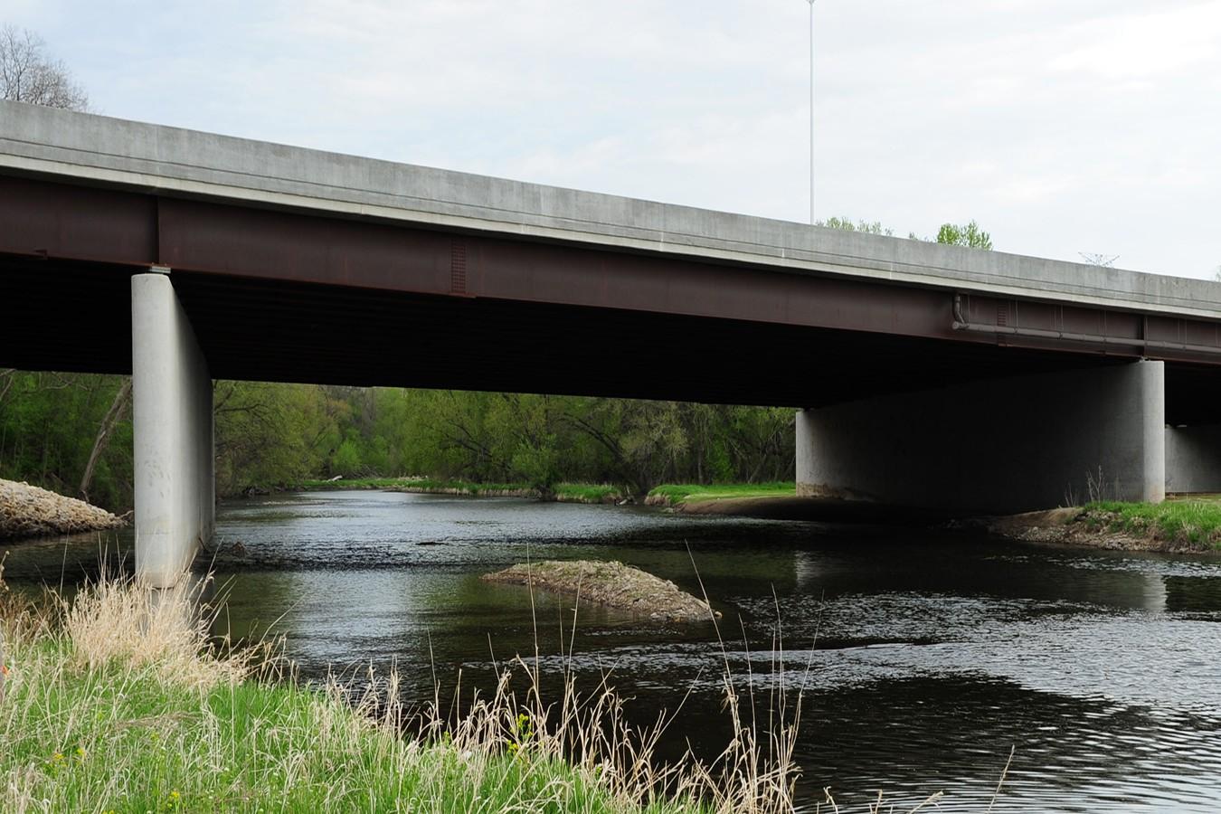 Jane Addams Memorial Tollway (I-90) over Kishwaukee River | Ciorba Group