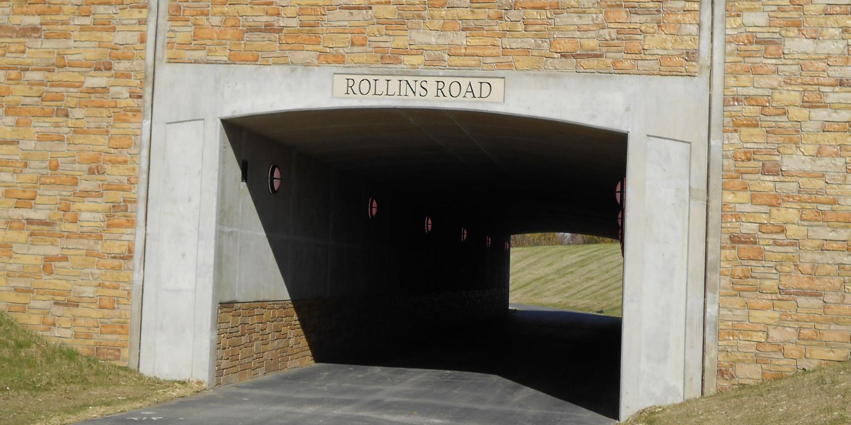 Rollins Road Millennium Trail Underpass | Ciorba Group