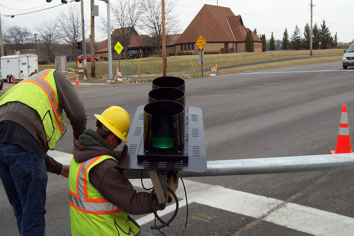 US Route 6 at Parker Road Traffic Signal Installation | Ciorba Group