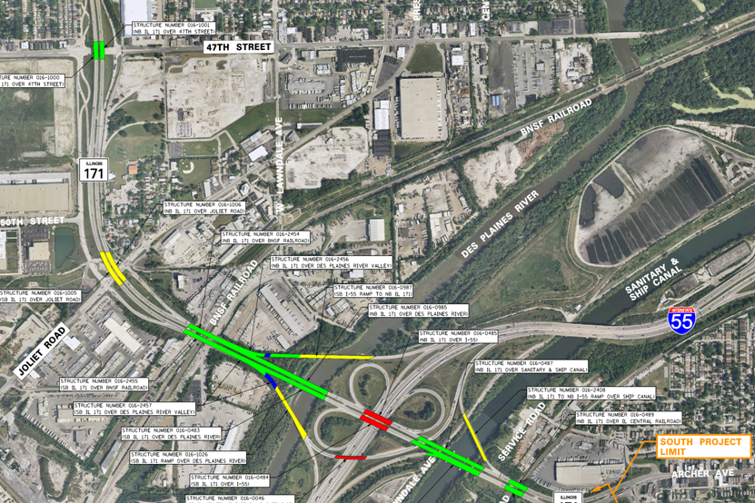 IL 171 at I-55 Interchange Improvement | Ciorba Group