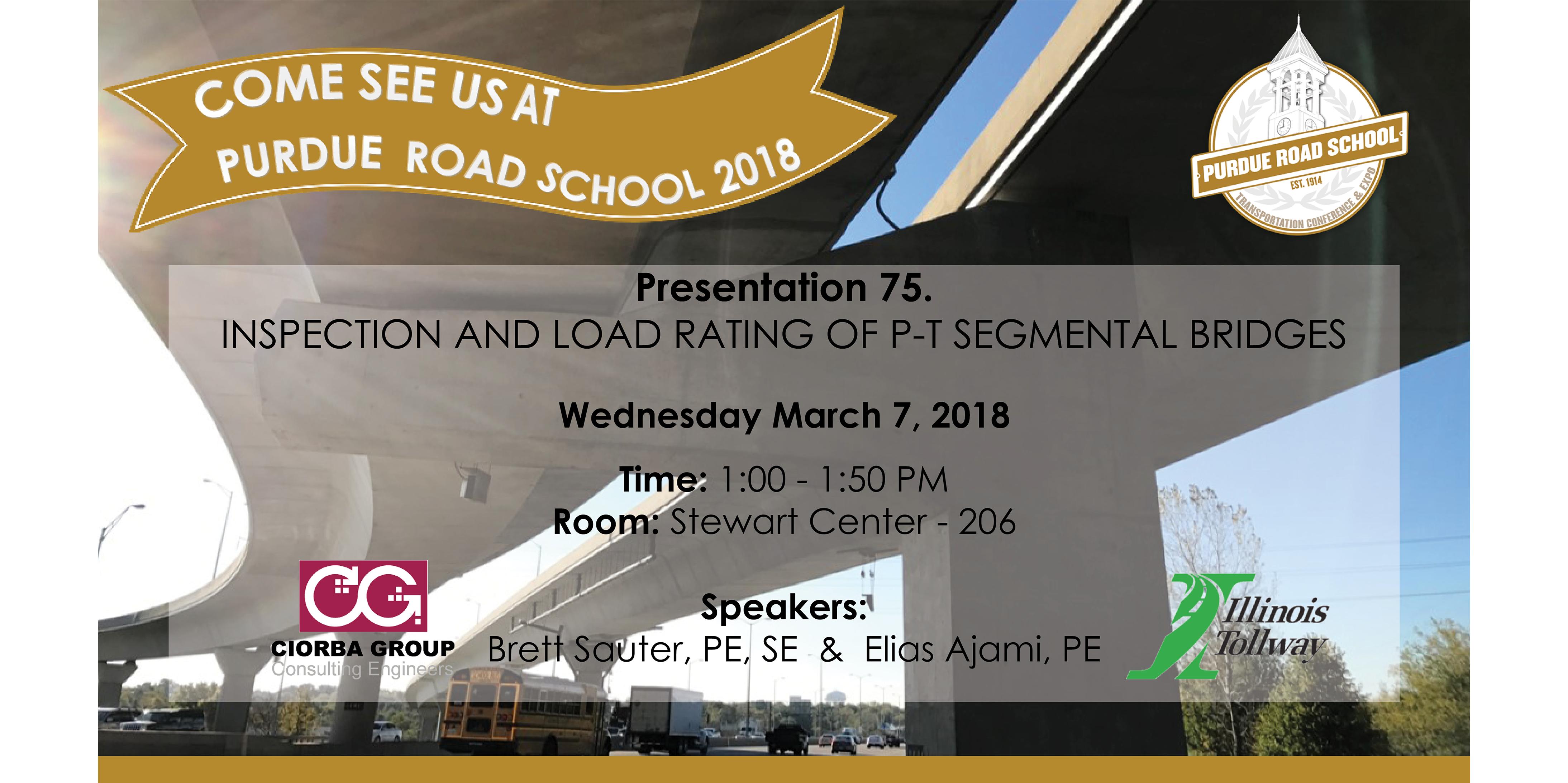 Road School_ Purdue   Ciorba Group