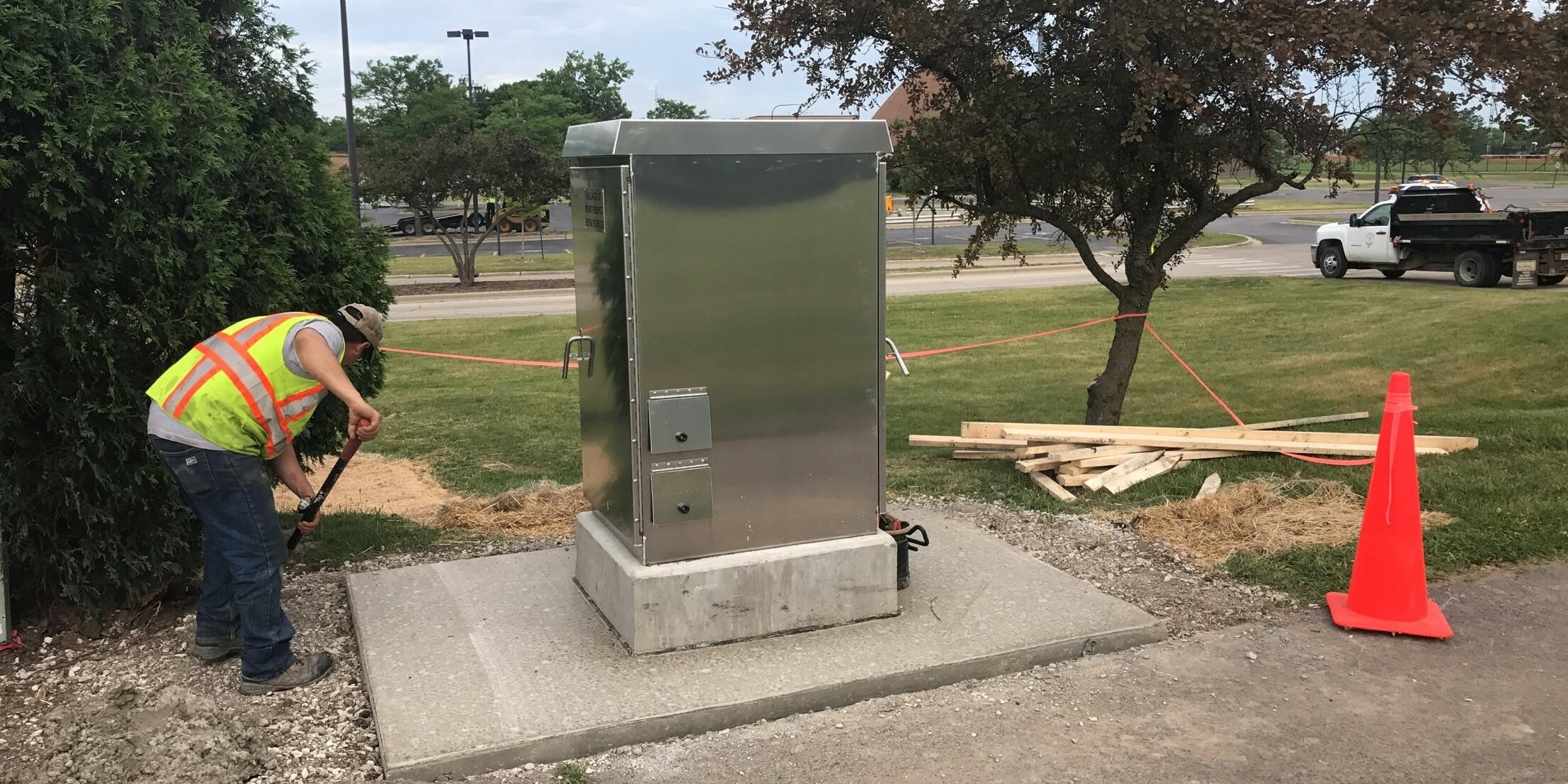Melas Park Electrical Upgrades | Ciorba Group