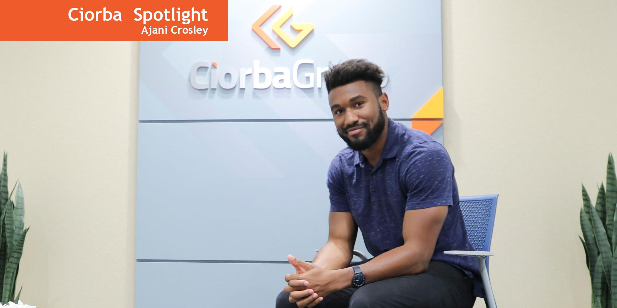 AJ in the Spotlight   Ciorba Group
