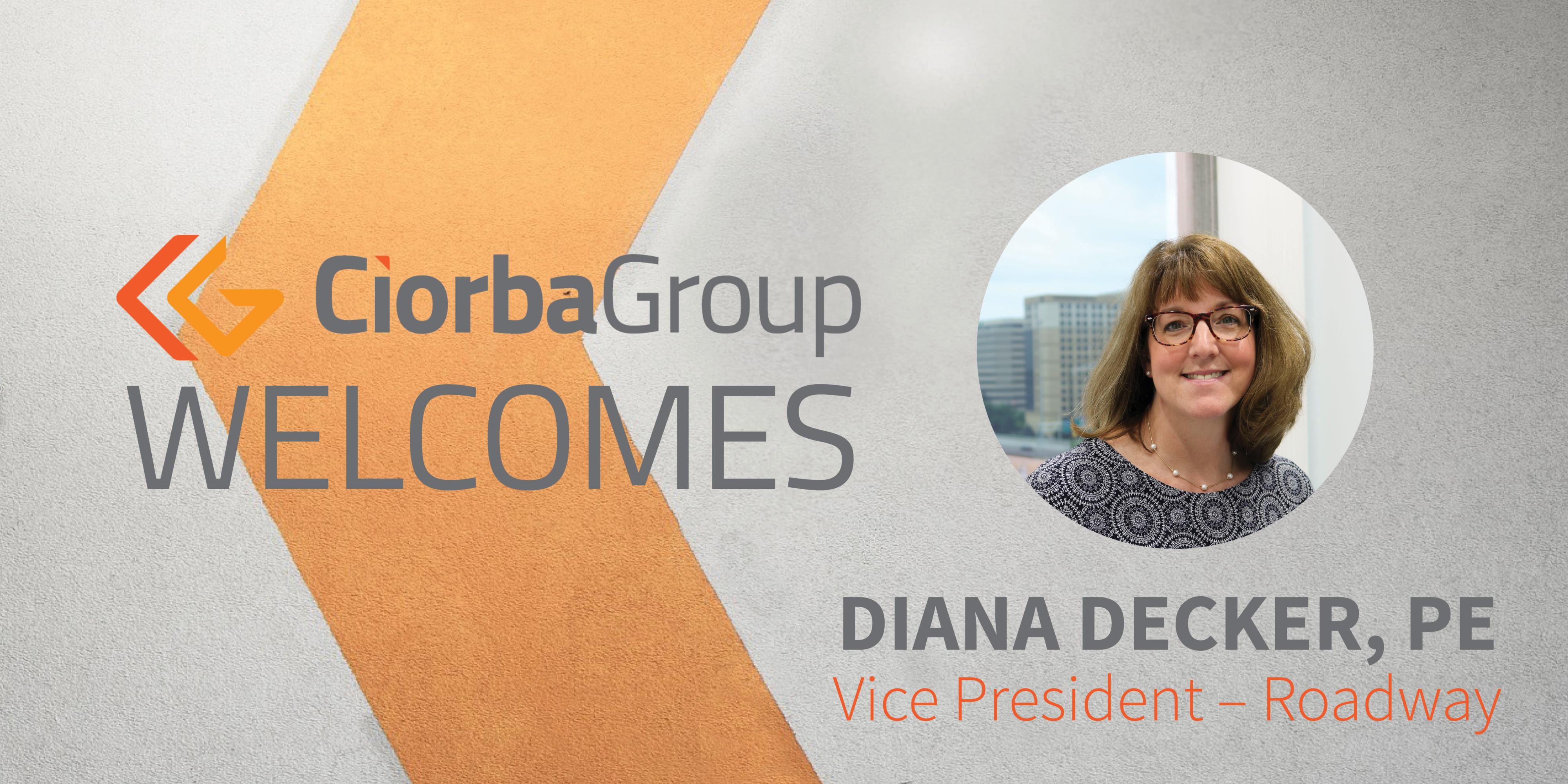 Diana Decker Vice President- Roadway | Ciorba Group