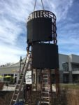 Installation of LED message boards