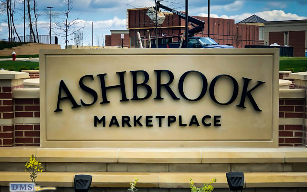 Stainless Steel 3D Sign Letters for Monument Sign in Ashburn VA