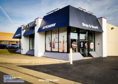 Bray & Scarff New awning at the Alexandria, VA location