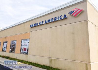 Bank Of America Clarksville ReBranding Channel Letters