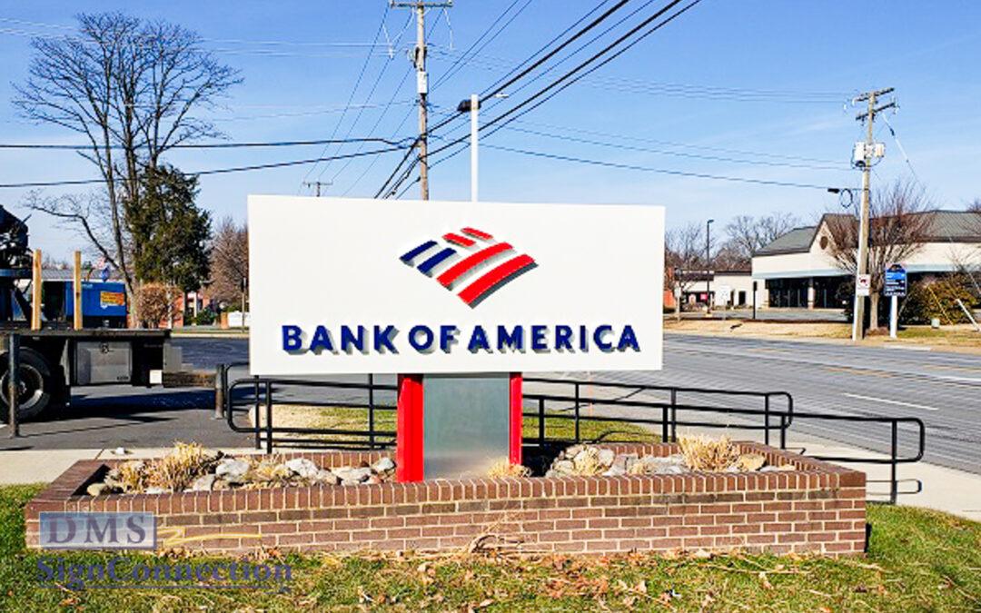 Bank of America Re-Branding 2020/2021 Multiple Locations around Washington DC area
