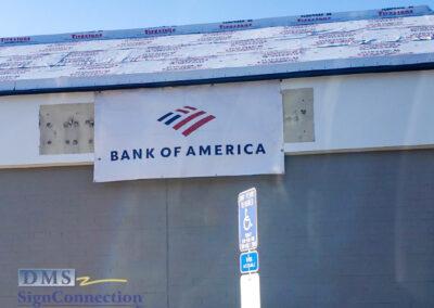 Bank Of America Leesburg East Rebranding Temp Banner