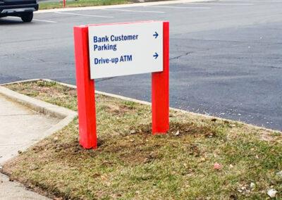 Bank Of America Leesburg East Rebranding Architectural Wayfinding