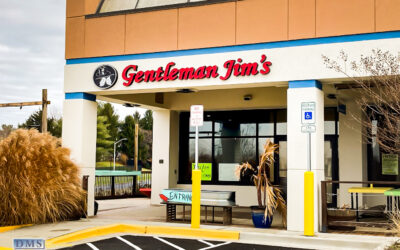 Red Channel Letters for Gentleman Jim's Restaurant and Bar in Gaithersburg MD