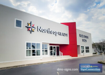 Creig Northrop-Northrop Realty-Bethany Beach - Channel Letters - Building Illuminated Sign