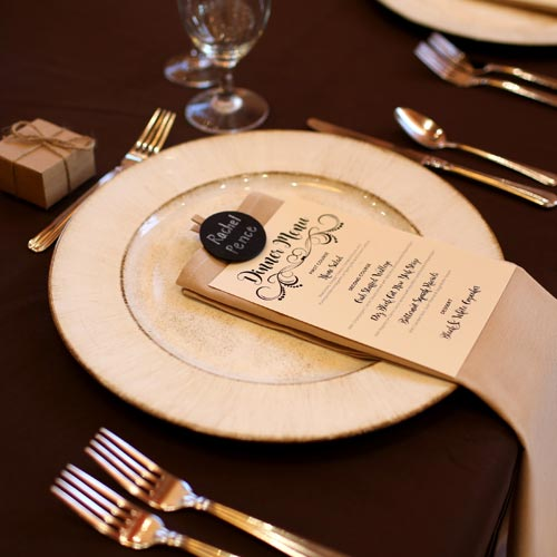 fancy wedding materials