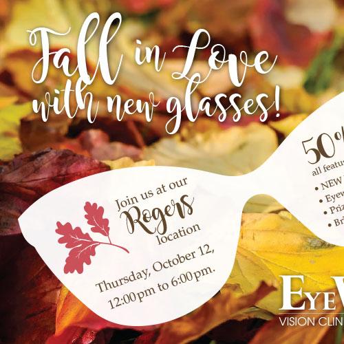fall style postcard