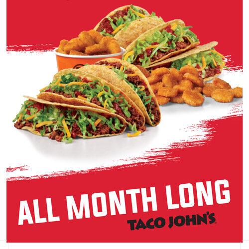 tacos at Taco Johns