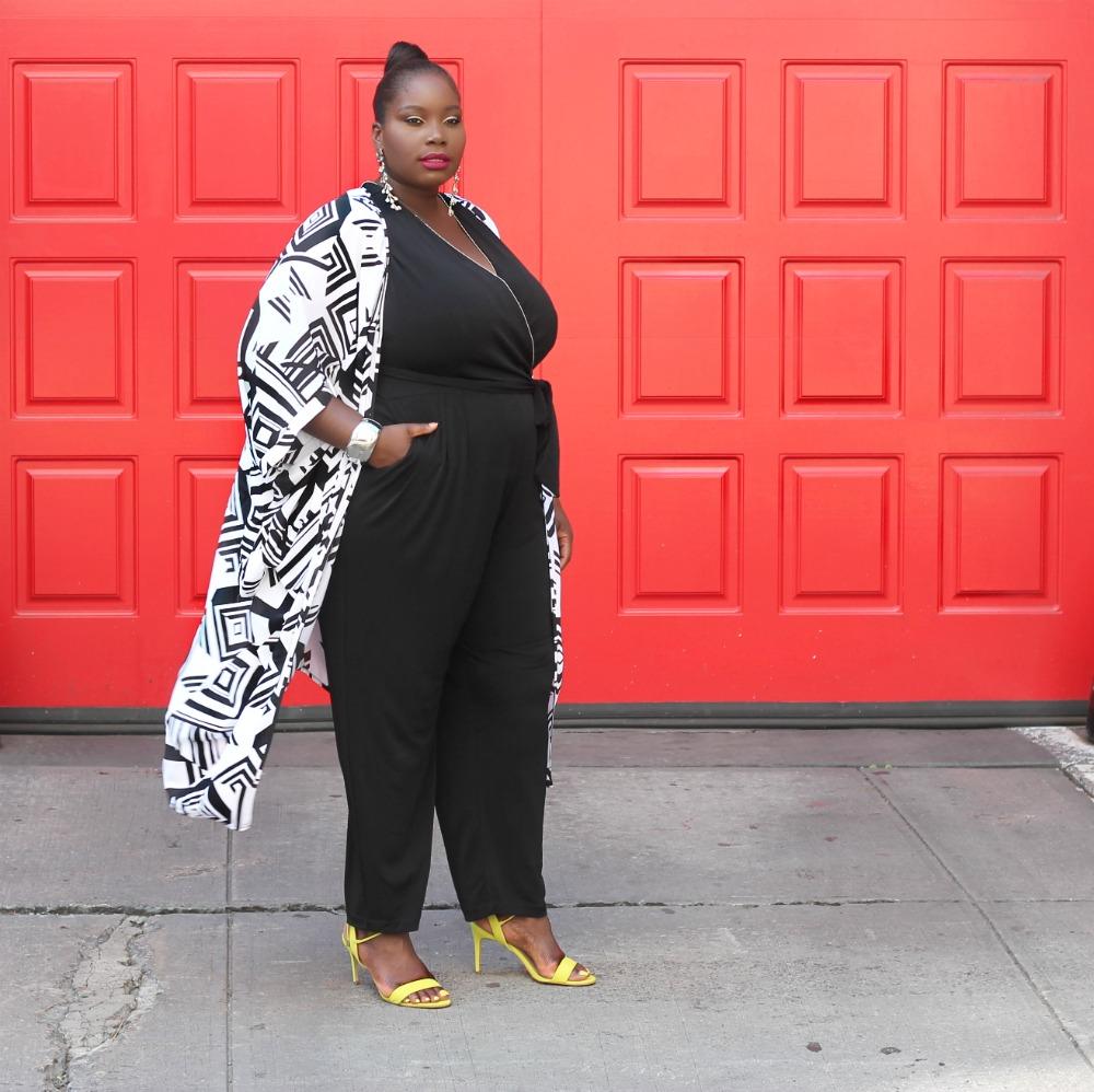 Amazon fashion penningtons kimono and kohls jumpsuit 3