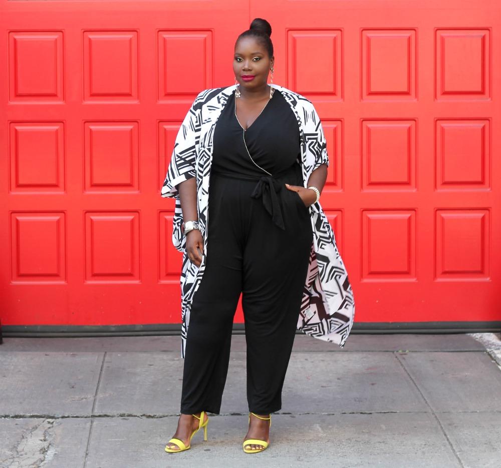 Amazon fashion penningtons kimono and kohls jumpsuit
