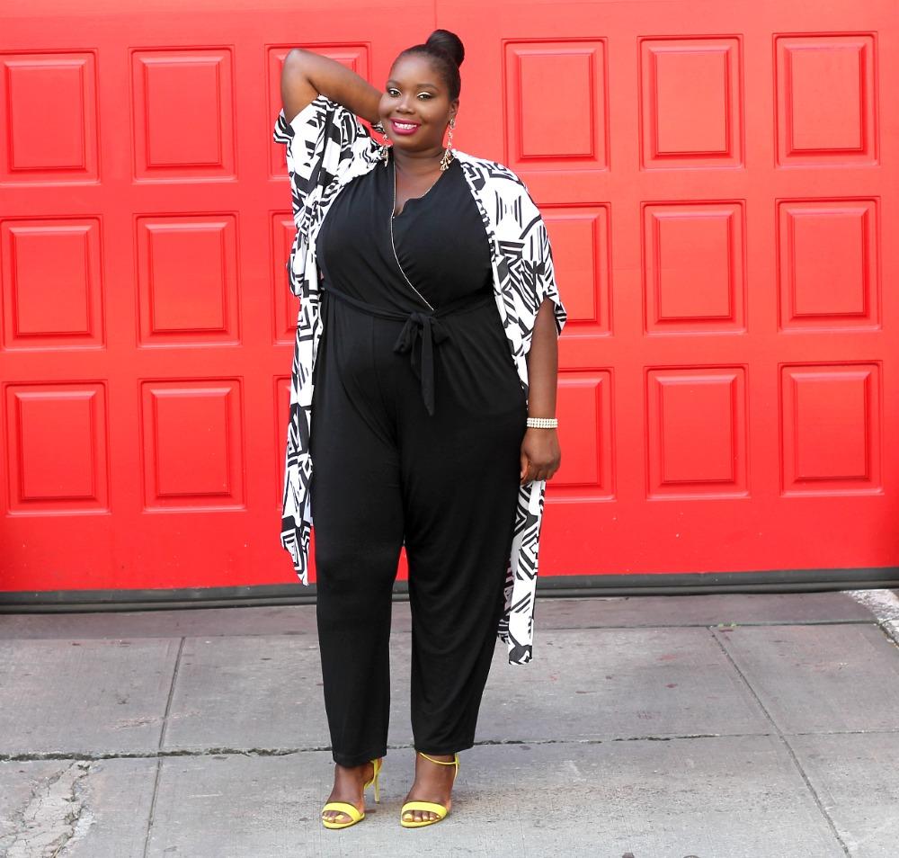 Amazon fashion penningtons plus size kimono and kohls jumpsuit 2