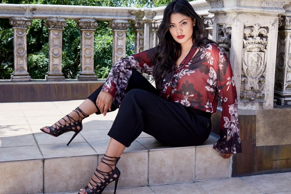 Exclusive First Look At Rachel Roy Curvy Fall 2017 Collection