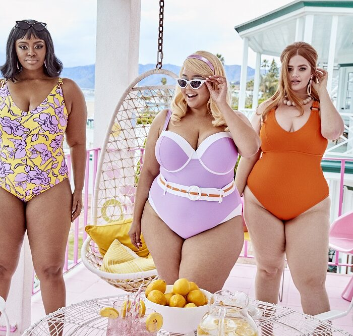 If Barbie Were Plus Size, She Would Rock The New Gabifresh X Swimsuits For All Collection