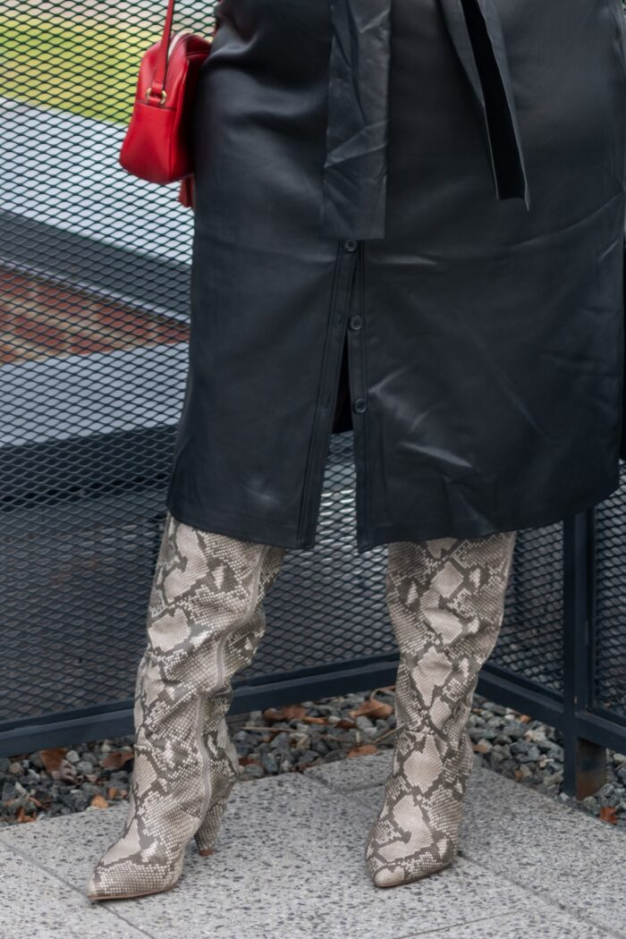 Trendy Fall Wide Calf Over The Knee Boots