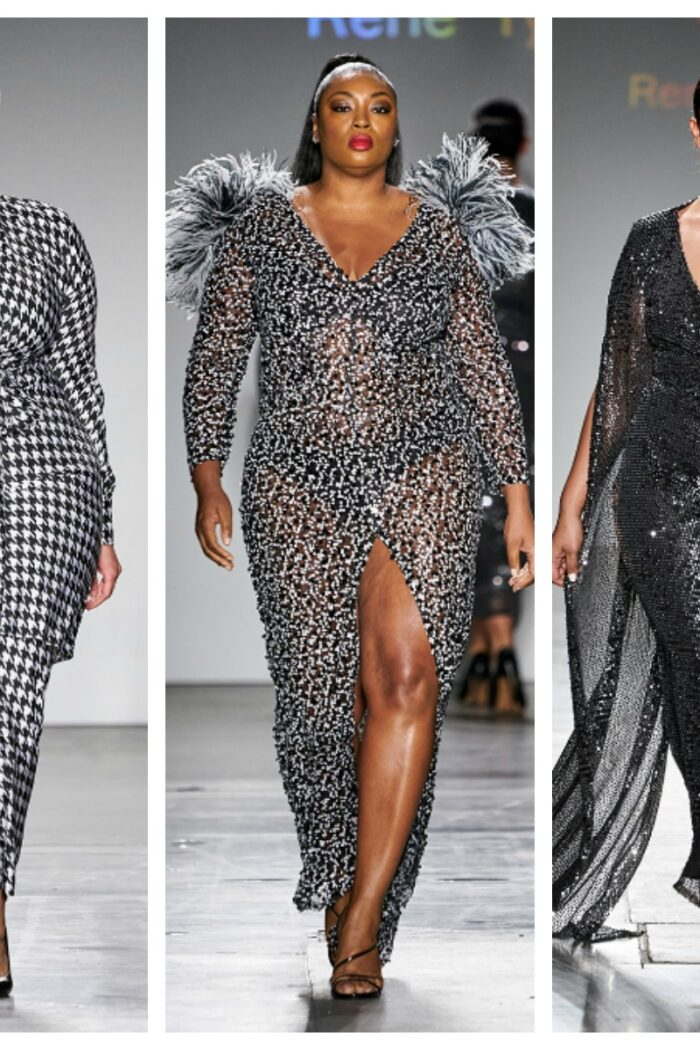 This Plus Size Designer Stole The Show At New York Fashion Week
