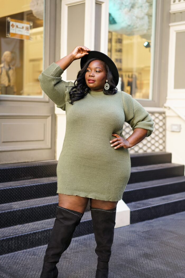 Must Have Plus Size Sweater Dresses For Winter