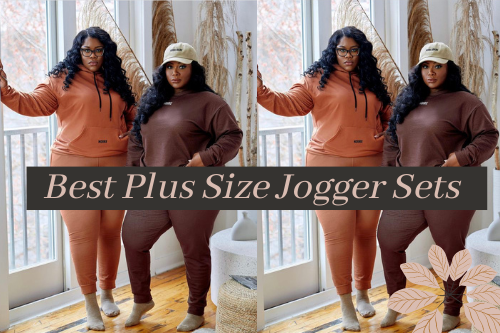 The Best Plus Size Matching Jogger Sets For Spring