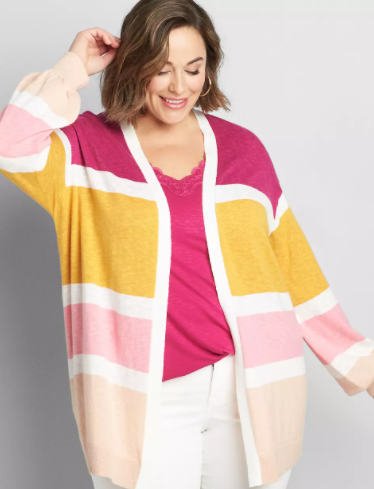 cute plus size spring tops from Lane Bryant