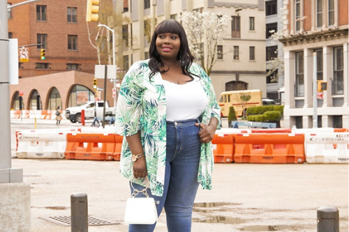 Cute Spring Plus Size Tops
