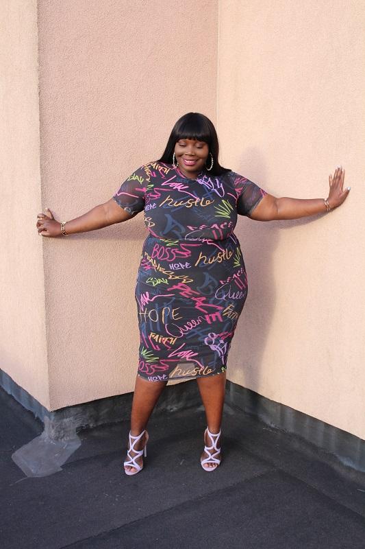 Nina parker macy's plus size clothing line hustle plus size dress . Stylish Curves . Alissa wilson